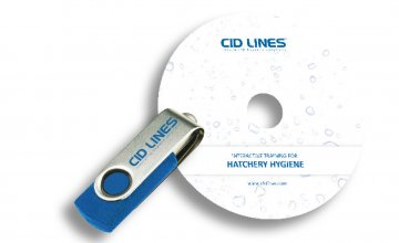 Interactive hatchery hygiene DVD